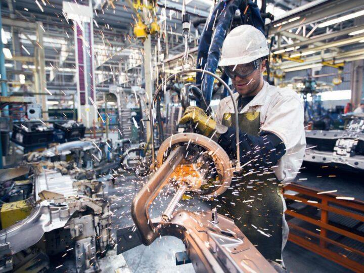 Producción industrial de agosto trepó 11%