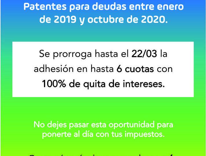 Moratoria AGIP para Inmobiliario/ABL y Patentes