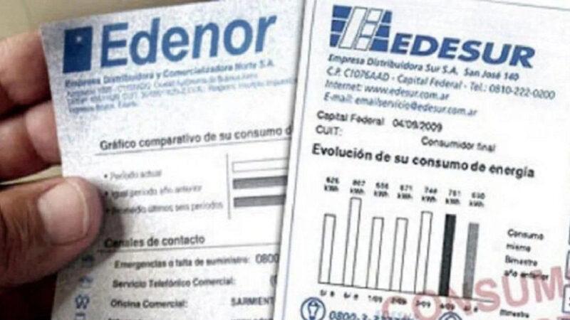 El ENRE autorizó un incremento del 9% para las tarifas de Edesur y Edenor