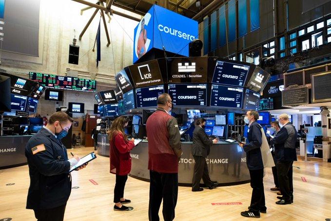 Freno a las subas en Wall Street