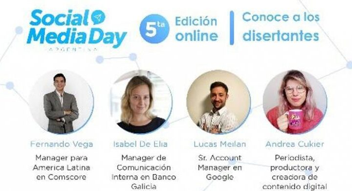 5° Edición del Social Media Day. Disponible on demand hasta el 30 de junio de 2021