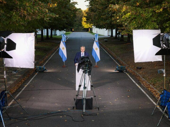 El Presidente anunció medidas fuertes y buscó equilibrio político con los jefes territoriales