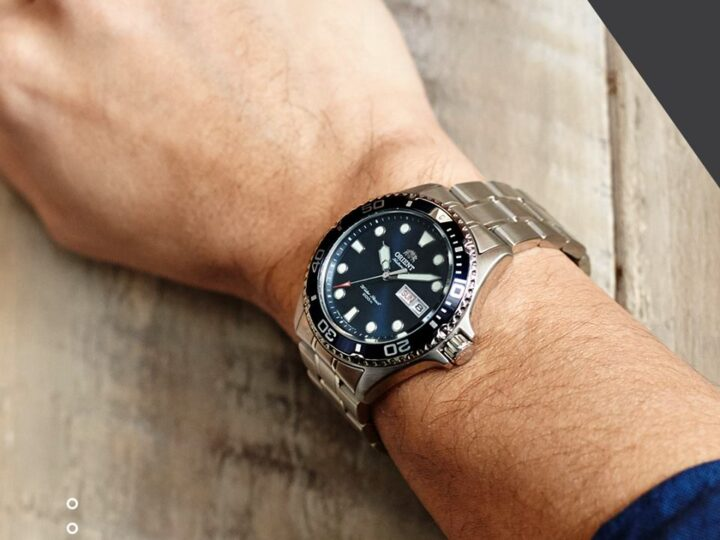 Un reloj elegante y deportivo para el hombre audaz