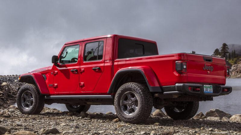 Jeep Gladiator. La pick-up mediana de Jeep llega importada de EE.UU.