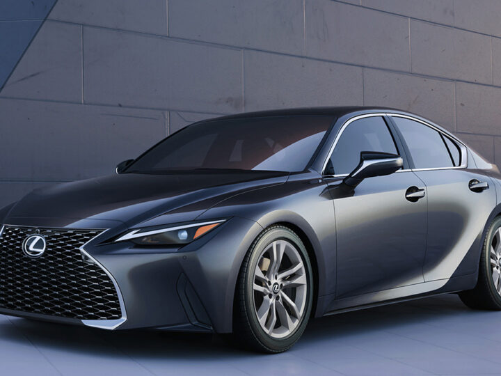 Toyota lanza el Lexus IS (2021)