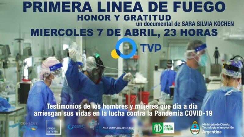 """Se estrena el documental  """"Primera Línea de Fuego"""" de Sara Silvia Kochen"""