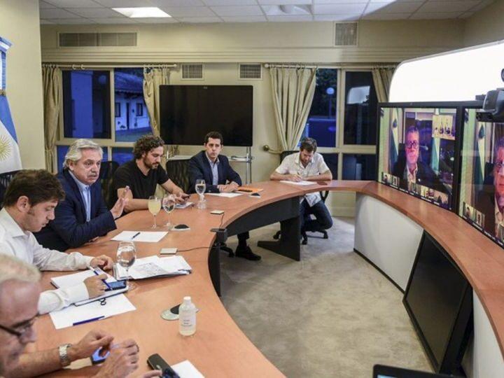 Fernández busca respaldo de los gobernadores para anunciar medidas restrictivas