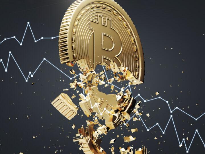 Bitcoin cayó por debajo de US$ 45.000 por rechazos