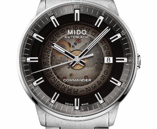 Mido Commander Gradient, tiempo de reminiscencias parisinas