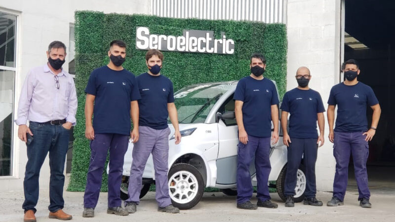 Lanzamiento: Sero Electric Cargo Bajo y Furgón, el auto eléctrico fabricado en Argentina