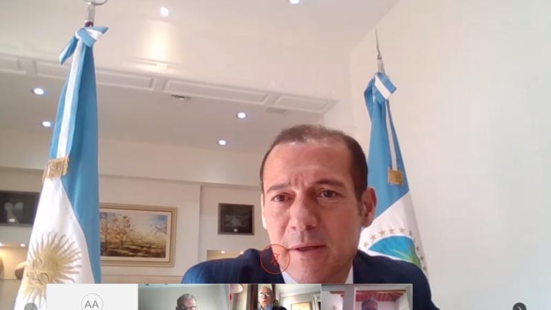 En conferencia con AmCham, Gutiérrez afirma que hay que desarrollar rápidamente la industria energética