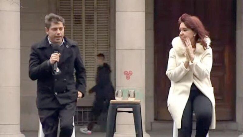 Cristina Kirchner terminó de instalar la vacuna y la gestión de Axel Kicillof al tope de la campaña del oficialismo