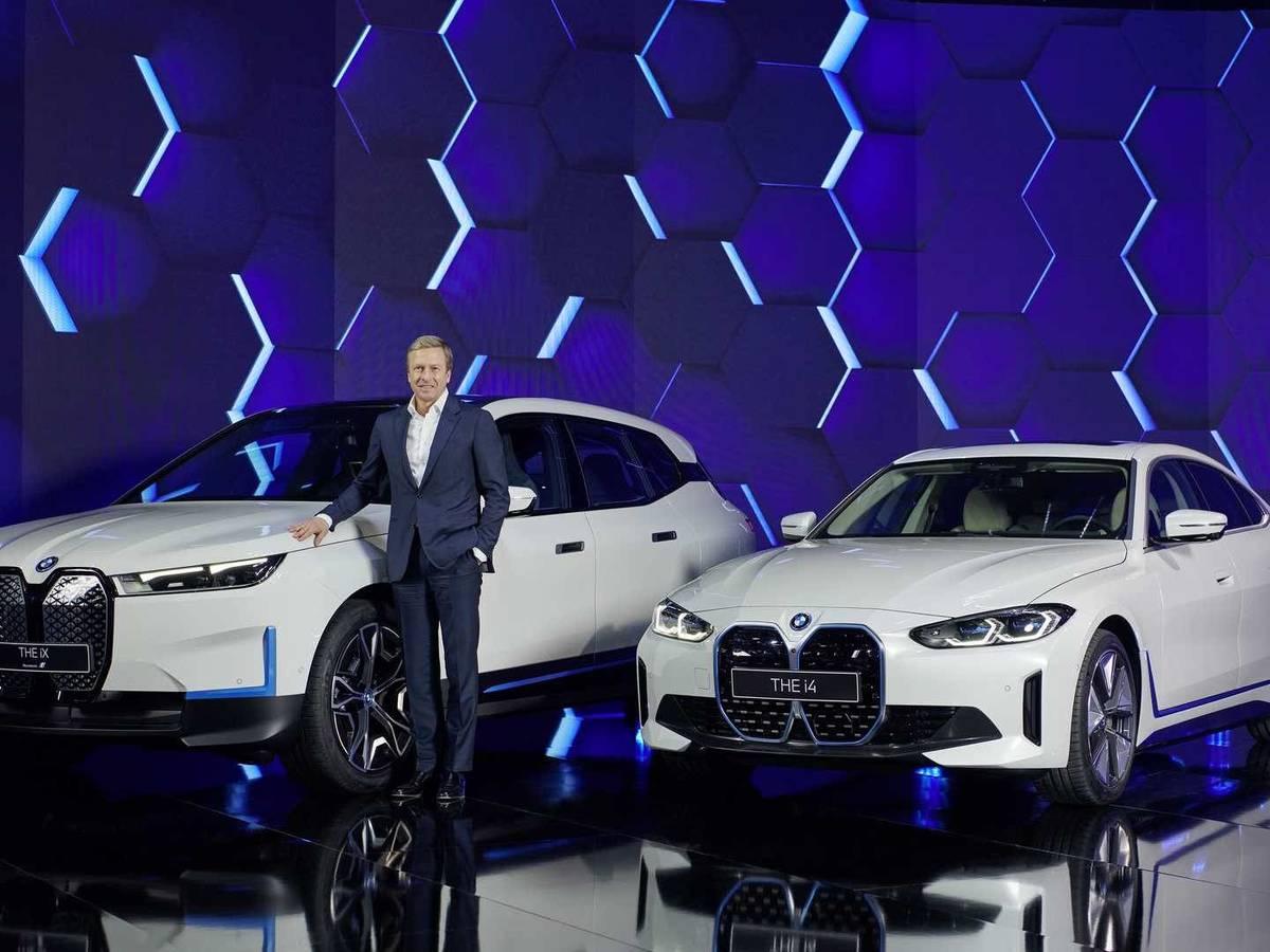 Entra en producción el BMW iX