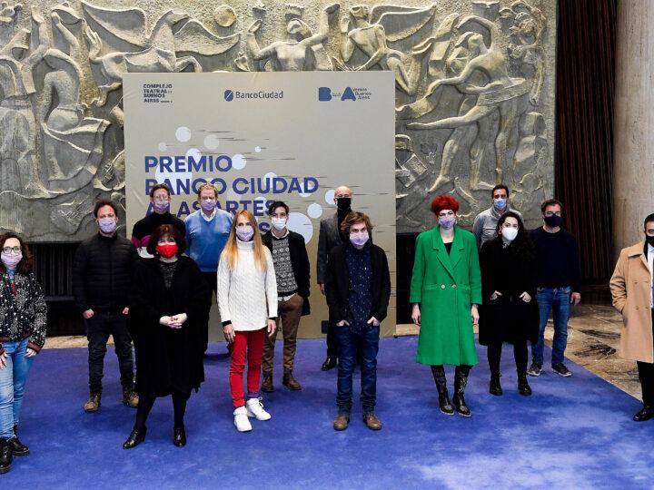 Los 10 proyectos ganadores del Premio Banco Ciudad a las Artes Escénicas