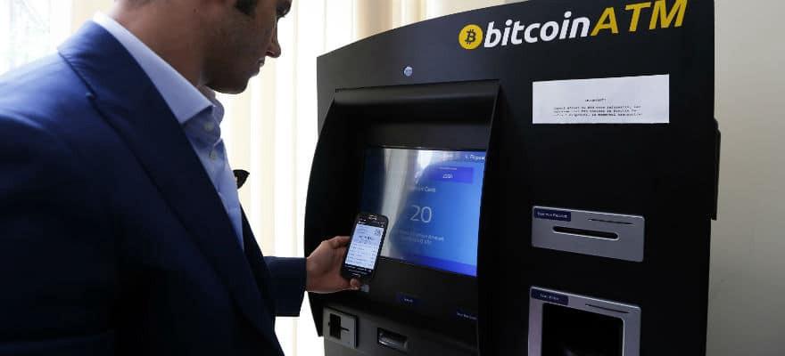 Instalación de cajeros automáticos cripto trepó 70%