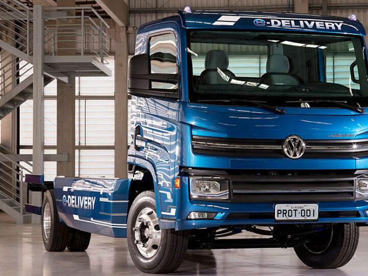 Volkswagen e-Delivery. Primer camión eléctrico producido en Brasil