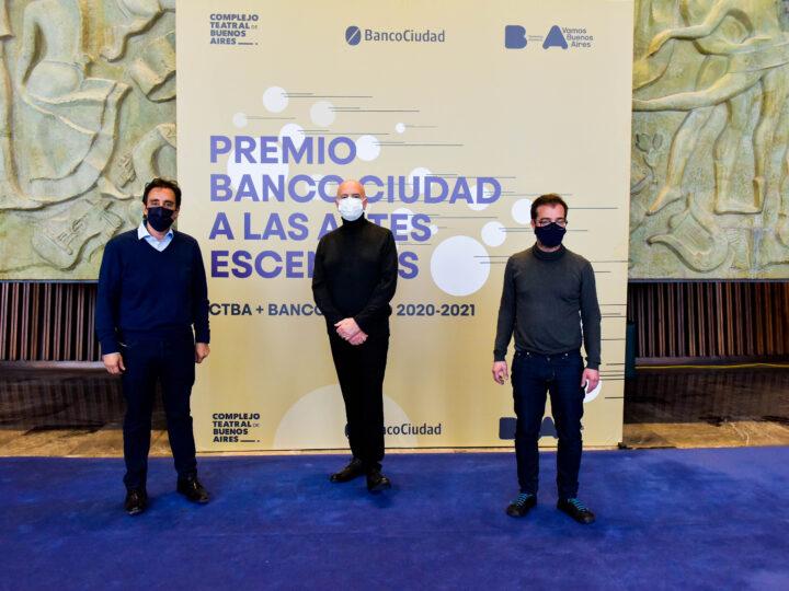 Se anunciaron otros 10 nuevos proyectos ganadores del Premio Banco Ciudad a las Artes Escénicas