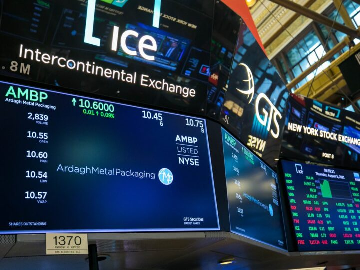 Bajaron nuevamente las acciones en Wall Street