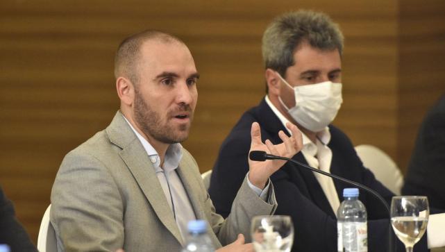 Industria minera: Martín Guzmán en dialogo con el Gobernador Uñac