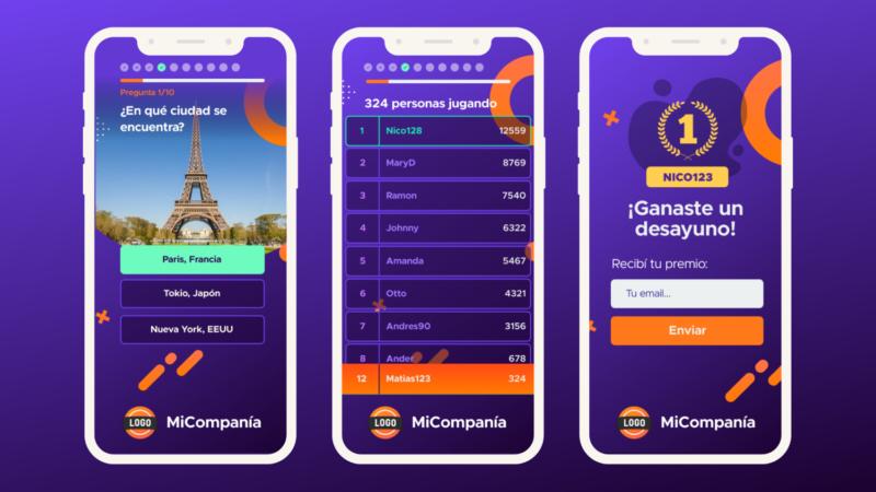 Llega CoffeeBreak, una plataforma de juegos y trivias para empresas