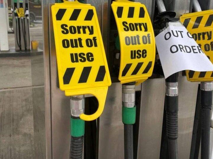 Una décima parte de las gasolineras siguen secas en Londres y el sureste de Inglaterra