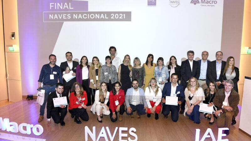 NAVES 2021: Banco Macro y El Centro de Entrepreneurship del IAE premiaron los ganadores del año