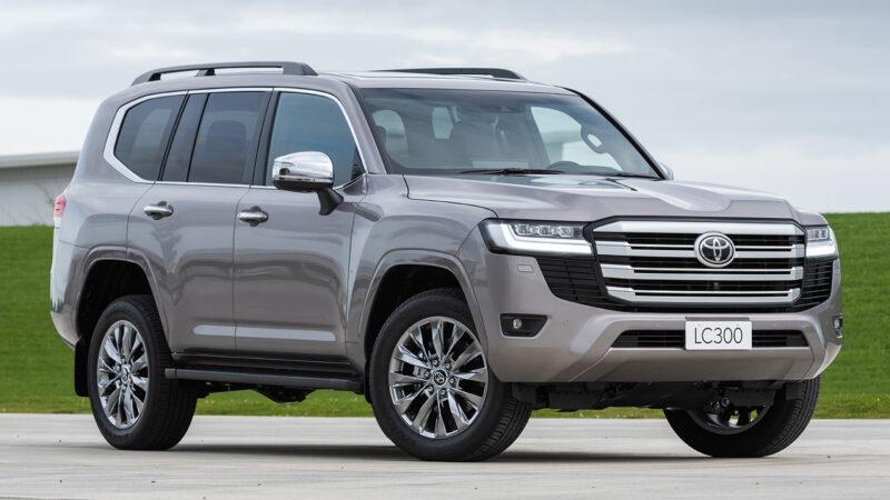 Llega la nueva Toyota  Land Cruiser 300 (2022)