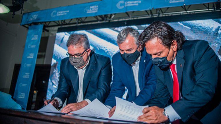 Se firmó el Tratado para la creación de la Región Minera del Litio entre Catamarca, Salta y Jujuy
