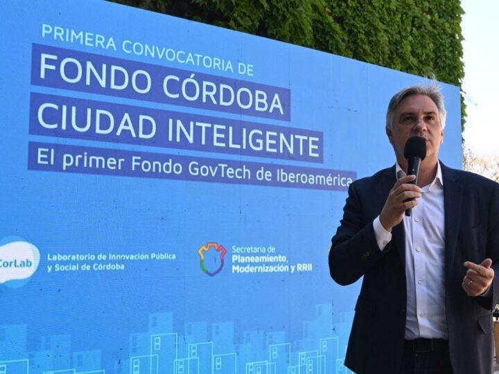 La Municipalidad y Corlab lanza el Fondo Córdoba Ciudad Inteligente