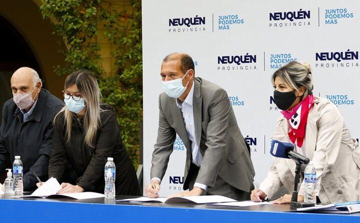 Se firmó acuerdo para el desarrollo de parque industrial y un aeropuerto en Rincón de los Sauces